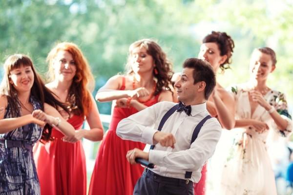 Душевная атмосфера на свадьбе