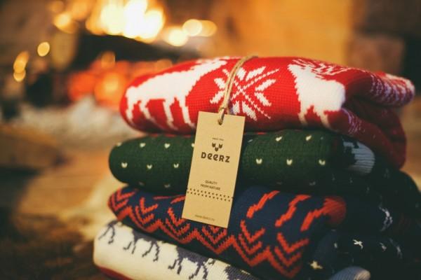 Под елочку – в скандинавском свитере!